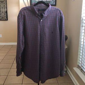 Polo Ralph Lauren Plaid Button Down Shirt 2XL Big